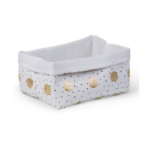 Childhome opbergmand gold dots 30