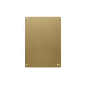 Gouden magneetbord van Hübsch