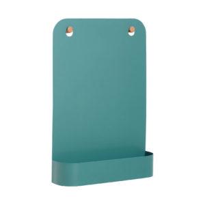 Groen magneetbord van Hübsch met magneetjes
