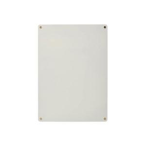 Zilveren magneetbord van Hübsch