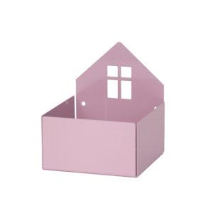 ROOMMATE OPBERGBAKJE HOUSE ROZE