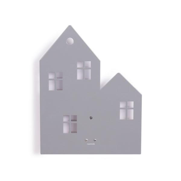 ROOMMATE WANDLAMP HOUSE GRIJS