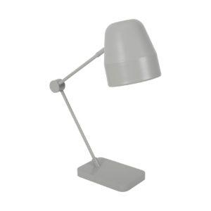 Grijze bureaulamp I shine van Sebra