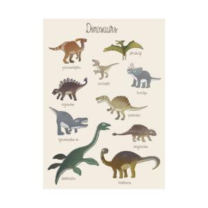 Dino poster van Sebra