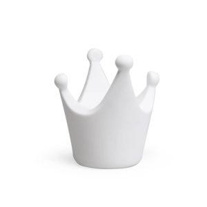 Witte spaarpot in de vorm van een kroontje van Atelier Pierre