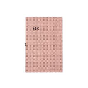 Roze letterbord A3 van Design Letters