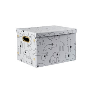 Grijze opvouwbare box van Done by deer