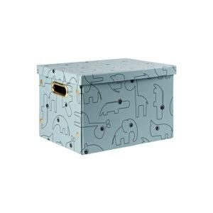 Blauwe opvouwbare box van Done by Deer