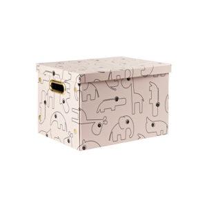 Roze opvouwbare box van Done by Deer