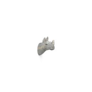 Houten handgemaakte kapstok in de vorm van een neushoorn van Ferm Living