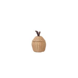 Kleine opbergmand in de vorm van een appel van Ferm Living