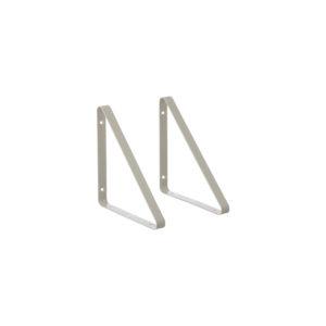 Set grijze hangers voor wandrek van Ferm Living