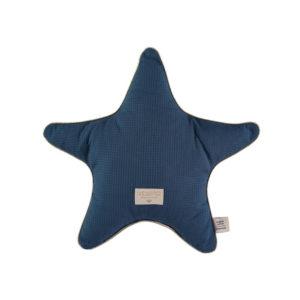 Blauw ster kussen in katoen van Nobodinoz