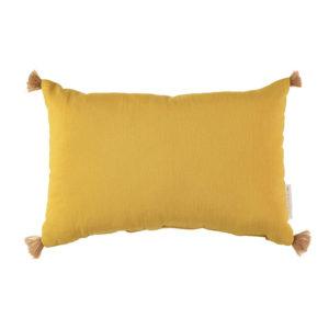 Gele sublim kussen van Nobodinoz