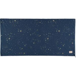 Blauwe speelmat met gouden sterren van Nobodinoz