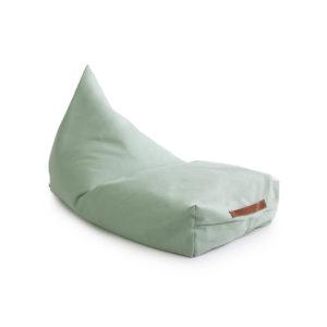 Groene zitzak in katoen van Nobodinoz