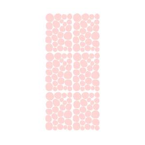 Muursticker met roze dots van Pöm