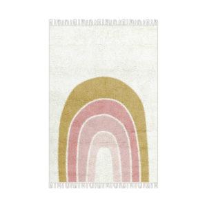 Regenboog tapijt van Tapis Petit