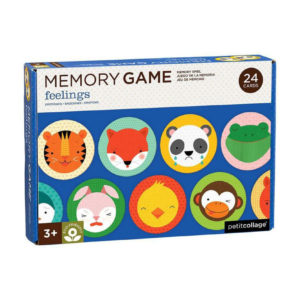 PETIT COLLAGE MEMORY GAME FEELING VERPAKKING