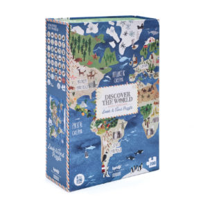 LONDJI PUZZEL DISCOVER THE WORLD PACKAGING