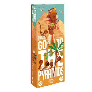 LONDJI PUZZEL GO TO THE PYRAMIDS PACKAGING