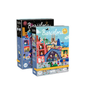 LONDJI PUZZEL NIGHT&DAY BARCELONA PACKAGING