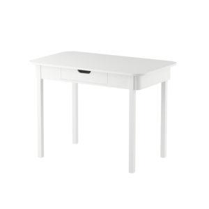 Witte bureau met lade van Sebra