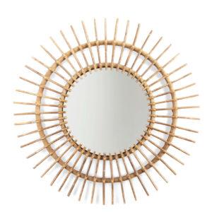 childhome spiegel rattan aura 90 cm