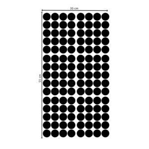 Muurstickers met zwarte dots van Pöm