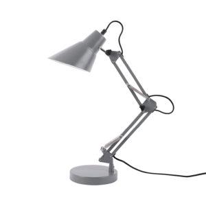 Grijze bureaulamp Fit van Present Time
