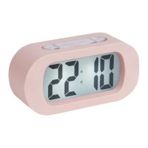 Roze gummy wekker van Present Time