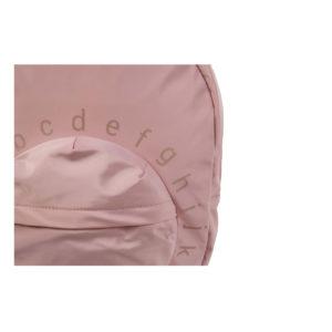 childhome ABC rugzak roze detail voorzak
