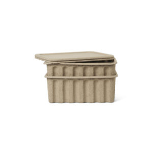 Ferm Living opbergbox pulp large set van 2