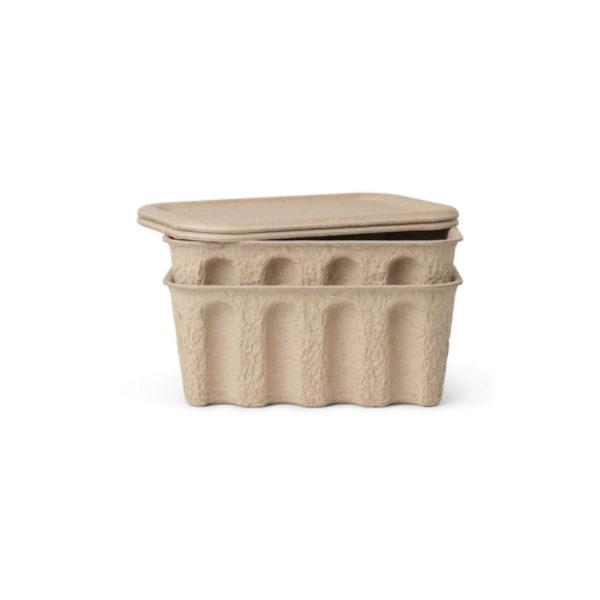 Ferm Living opbergbox pulp small set van 2