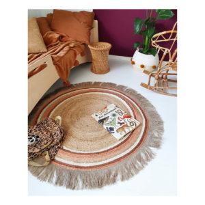 tapis petit tapijt jute tess rust sfeer