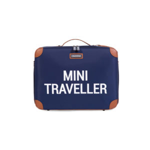 Childhome mini traveller reiskoffer blauw