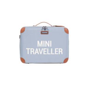Childhome mini traveller reiskoffer grijs ecru