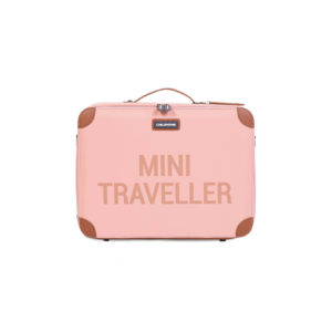 Childhome mini traveller reiskoffer roze
