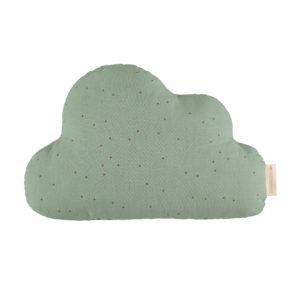 nobodinoz cloud kussen eden green dots
