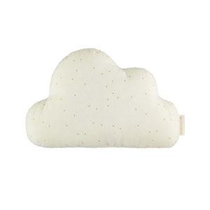 nobodinoz cloud kussen honey sweet dots