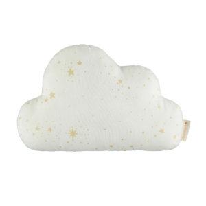 nobodinoz kussen cloud gold stella natural
