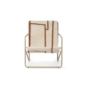 Ferm Living Desert chair kids cashmere shape voor