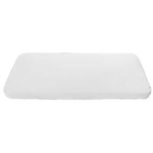 Wit hoeslaken voor het jr and grow bed van Sebra