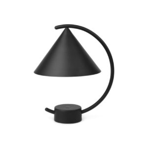 erm living meridian lamp zwart