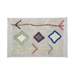 Karool tapijt met felle kleuren van Lorena Canals