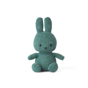 Nijntje Miffy corduroy green 23 cm