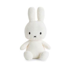 Nijntje Miffy corduroy off white 33 cm