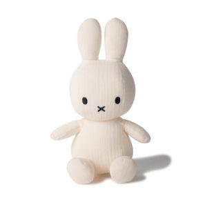 Nijntje Miffy mousseline off white 23 cm