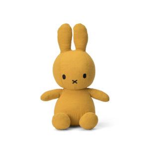 Nijntje Miffy mousseline yellow 23 cm