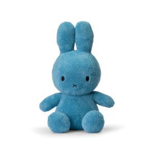 Nijntje Miffy terruy blue 33 cm